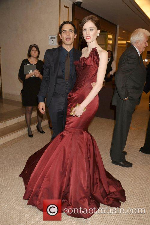 Zac Posen and Coco Rocha  Bergdorf Goodman...