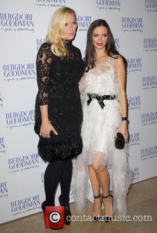 Keren Craig (L) and Georgina Chapman Bergdorf Goodman...