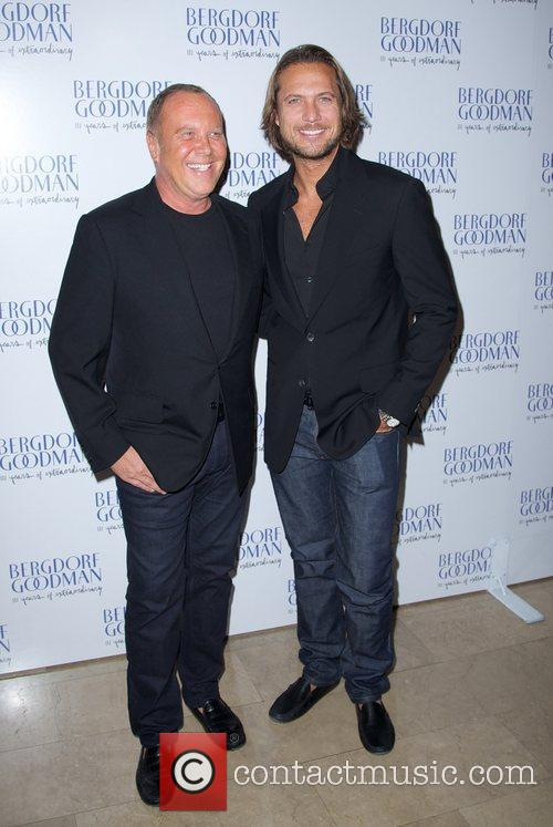 Michael Kors (L) and Lance LePere Bergdorf Goodman...