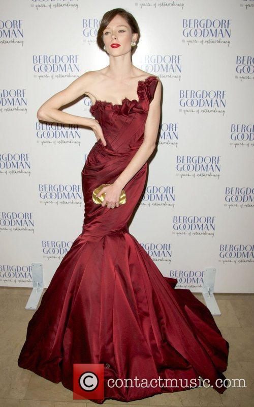 Coco Rocha attends the Bergdorf Goodman 111th Anniversary...