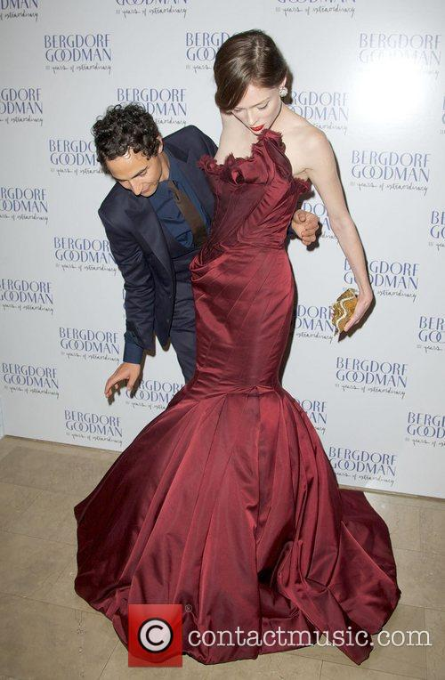 Zac Posen and Coco Rocha 5