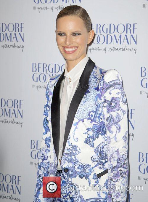 Karolina Kurkova  attends the Bergdorf Goodman 111th...