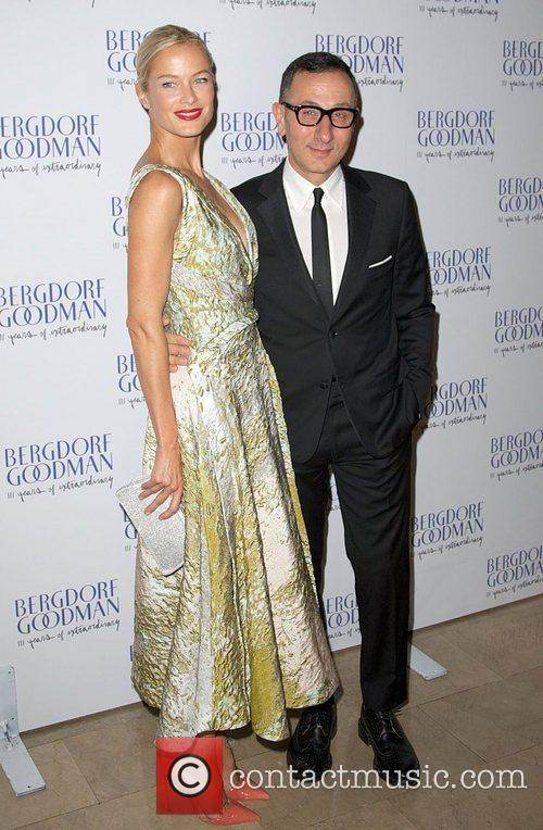 Carolyn Murphy and Gilles Mendel attends the Bergdorf...