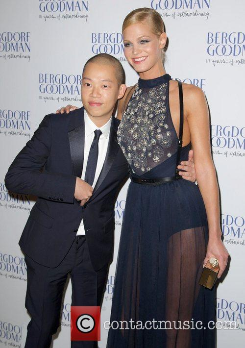 Jason Wu and Erin Heatherton  attends the...