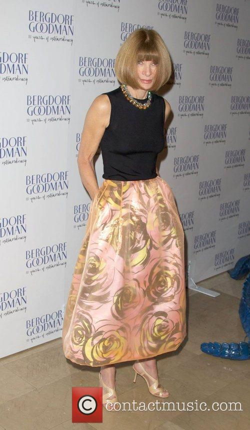 Anna Wintour attends the Bergdorf Goodman 111th Anniversary...