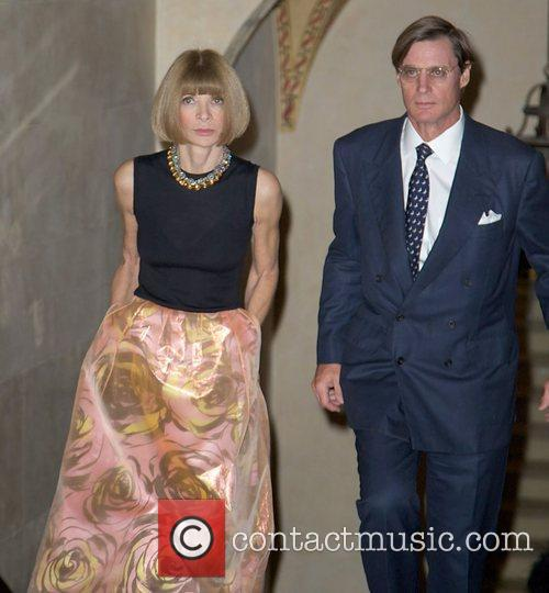 Anna Wintour; John Shelby attends the Bergdorf Goodman...