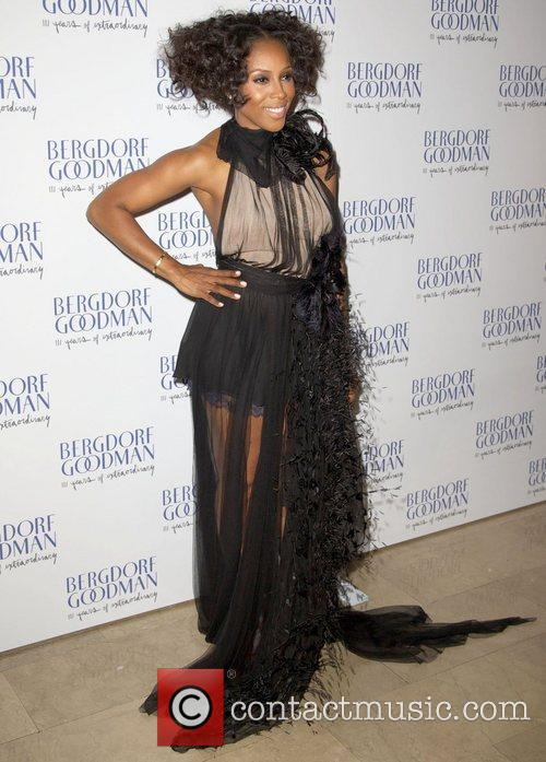 June Ambrose attends the Bergdorf Goodman 111th Anniversary...