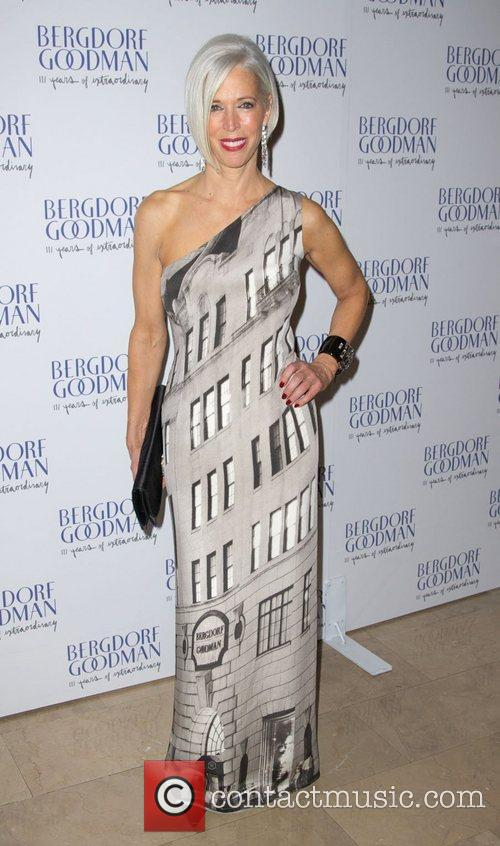 Linda Fargo attends the Bergdorf Goodman 111th Anniversary...