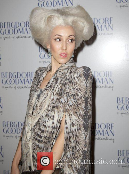 Michelle Violy Harper attends the Bergdorf Goodman 111th...