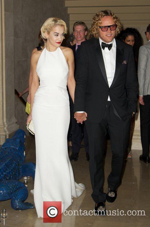 Peter Dundas and Rita Ora 1