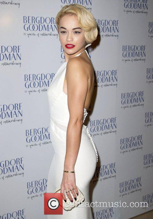Rita Ora attends the Bergdorf Goodman 111th Anniversary...
