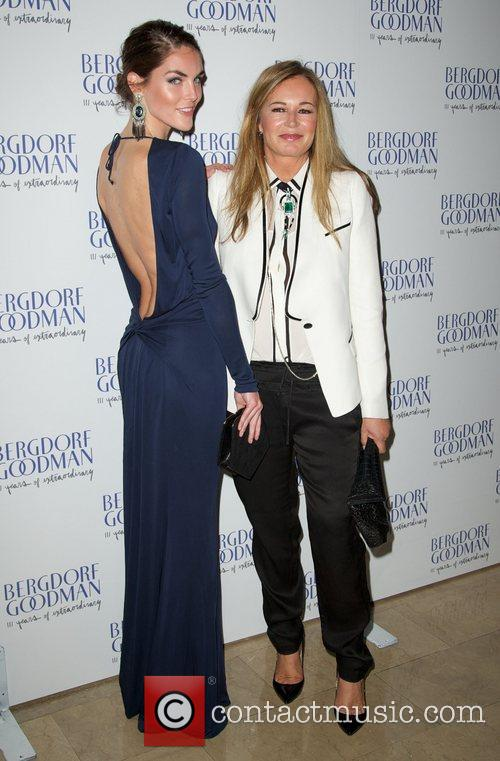 Hilary Rhoda and Norma Kamali   Bergdorf...