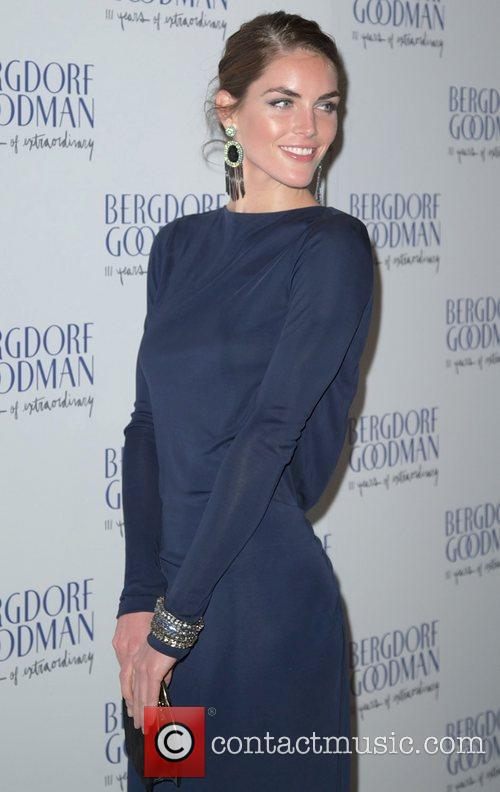 Hilary Rhoda  Bergdorf Goodman 111th Anniversary held...