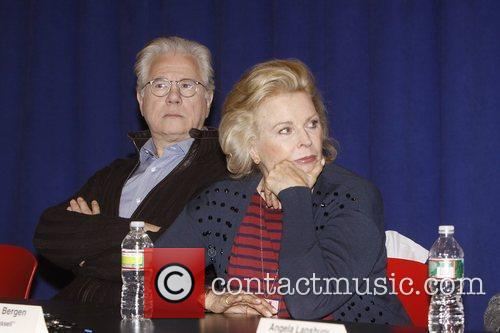 John Larroquette and Candice Bergen  Press conference...