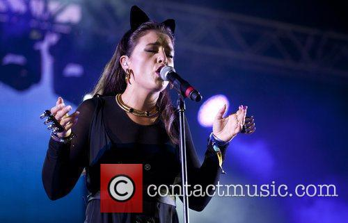 Jessie Ware Bestival 2012 held at Robin Hill...