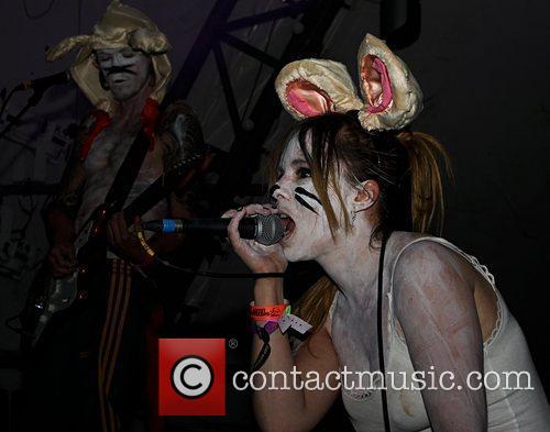 Rosie Oddie of BIGKids Bestival 2012 held at...