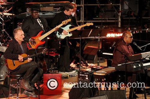 Sting, Stevie Wonder