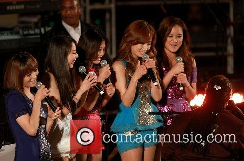 The Wonder Girls and Stevie Wonder 3