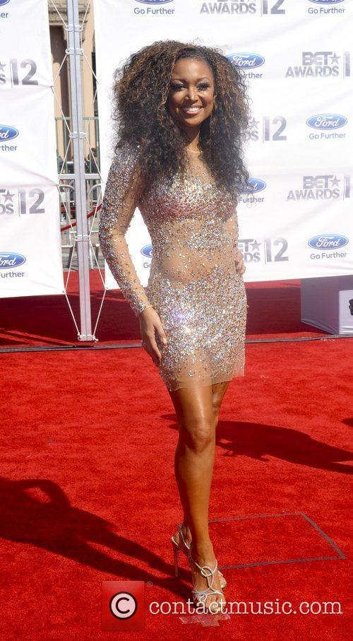 Chante Moore ,  The BET Awards 2012...