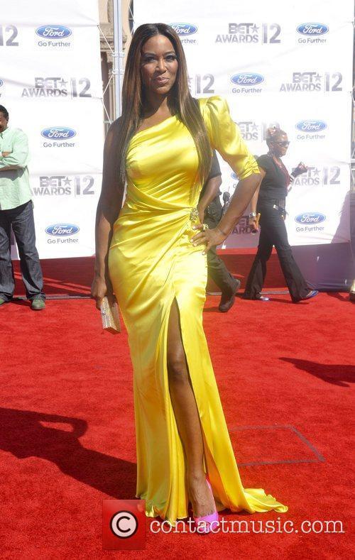 Kenya Moore ,  The BET Awards 2012...