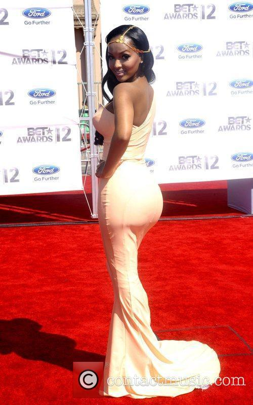 LoLa Monroe ,  The BET Awards 2012...