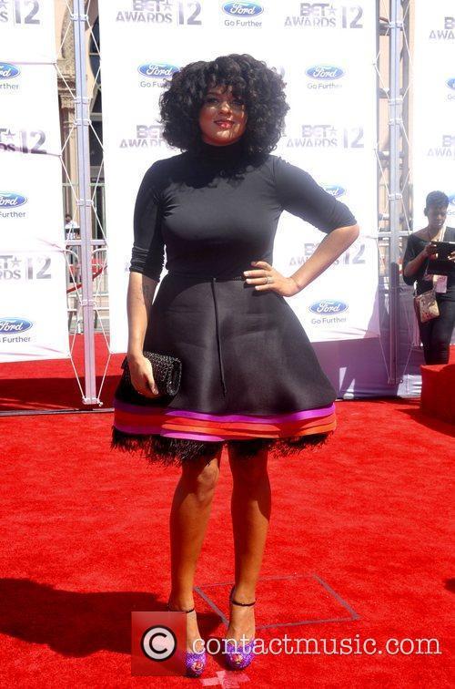 Marsha Ambrosius ,  The BET Awards 2012...