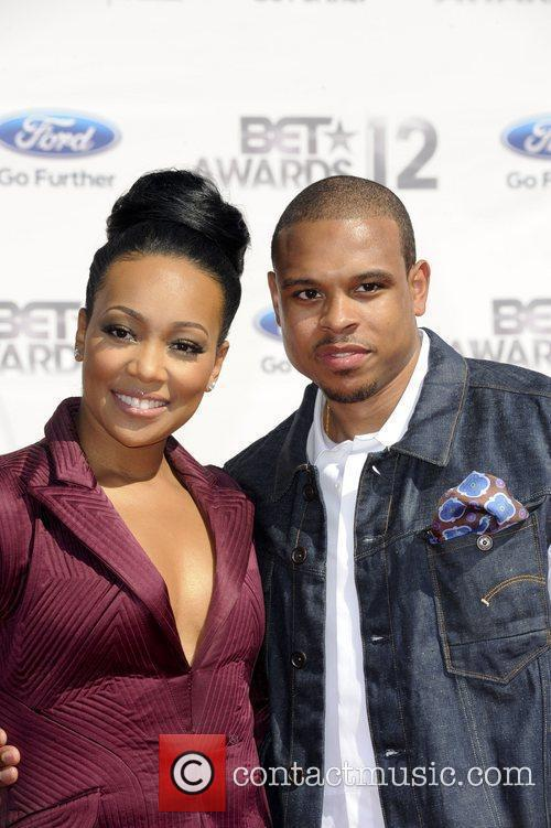 Monica, Shannon Brown ,  The BET Awards...