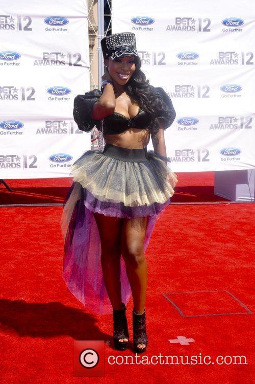 Porscha Coleman ,  The BET Awards 2012...