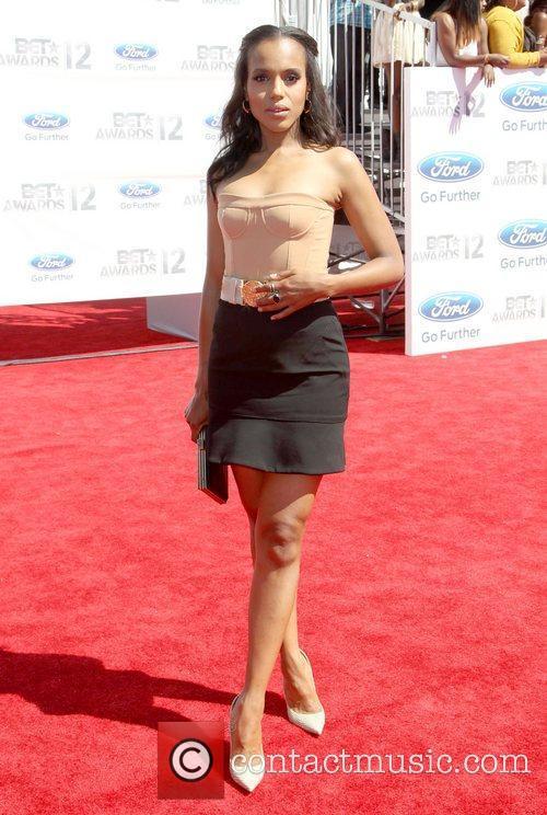 Kerry Washington 2012 BET Awards - Arrivals held...