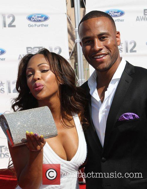 Meagan Good, DeVon Franklin 2012 BET Awards -...
