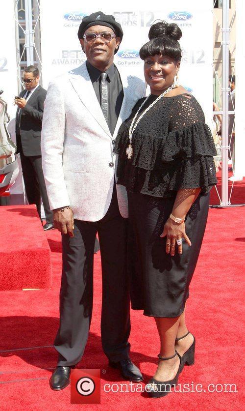 Samuel L Jackson, LaTanya Richardson 2012 BET Awards...