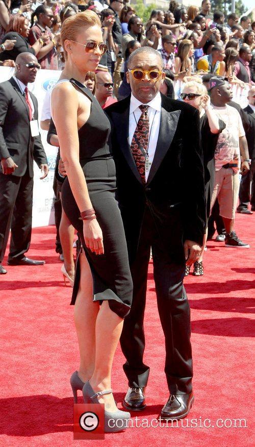 Spike Lee, Tonya Lewis Lee 2012 BET Awards...