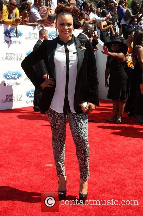 Faith Evans 2012 BET Awards at The Shrine...