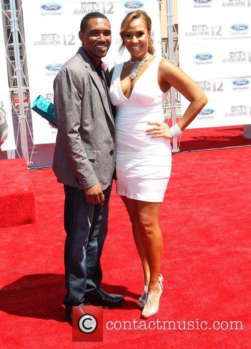Kent Faulcon, Kiki Haynes 2012 BET Awards at...