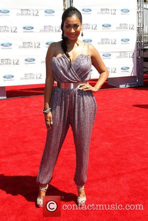Lala Anthony 2012 BET Awards at The Shrine...