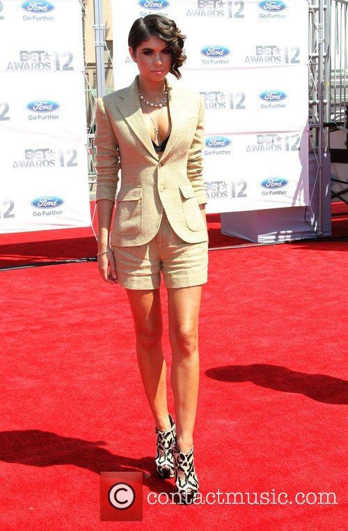 Leah LaBelle 2012 BET Awards at The Shrine...