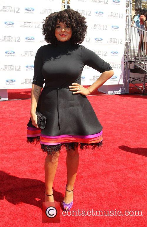 Marsha Ambrosius 2012 BET Awards at The Shrine...