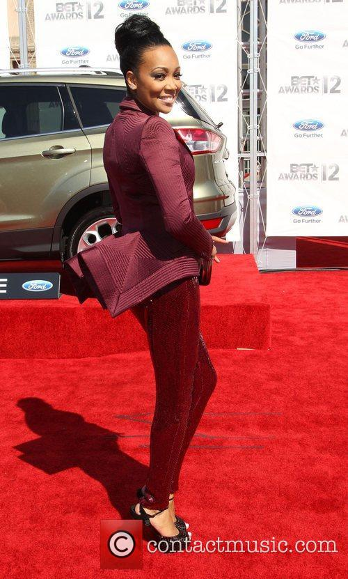 Monica Denise Brown 2012 BET Awards at The...