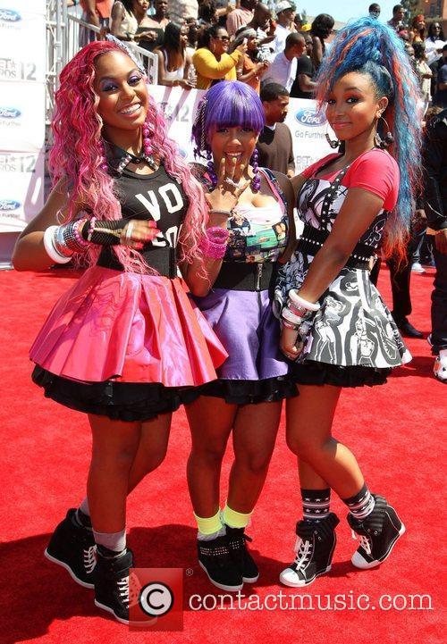 The OMG Girlz 2012 BET Awards at The...