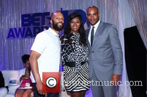 Common, Boris Kodjoe and Toccara Jones