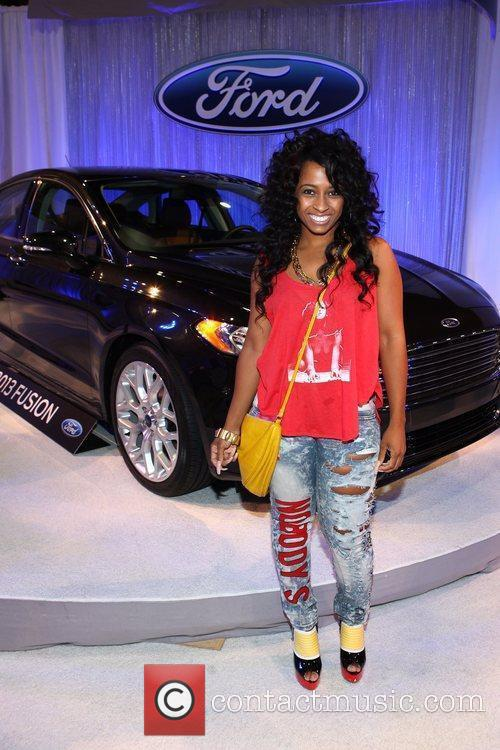 Shanell Woodgett The BET Awards 2012 - Ford...