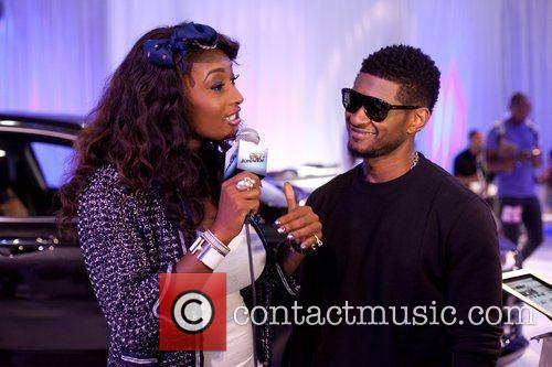 Toccara Jones, Usher and Bet Awards 3