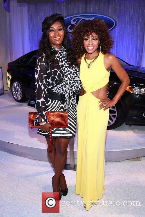 Toccara Jones, Wendy Raquel Robinson The BET Awards...
