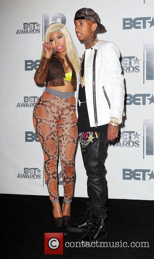 Tyga, Nicki Minaj The BET Awards 2012 -...