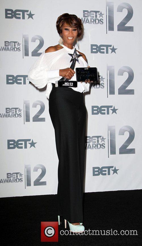 Yolanda Adams The BET Awards 2012 - Press...