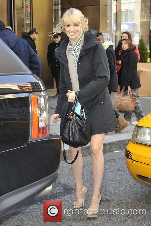Seen leaving her Manhattan hotel