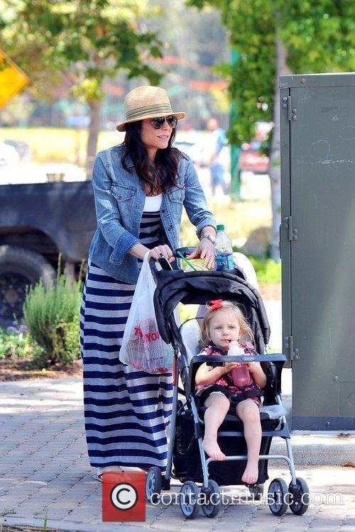 Bethenny Frankel spends the day with her family...