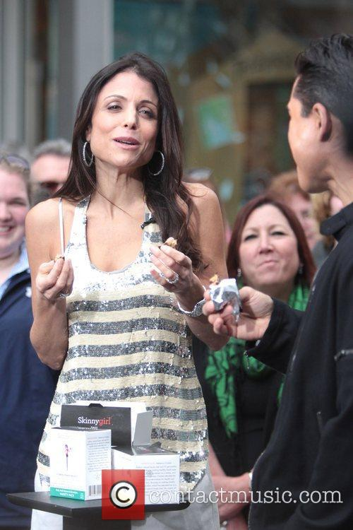 Bethenny Frankel appears on 'Extra' at The Grove...