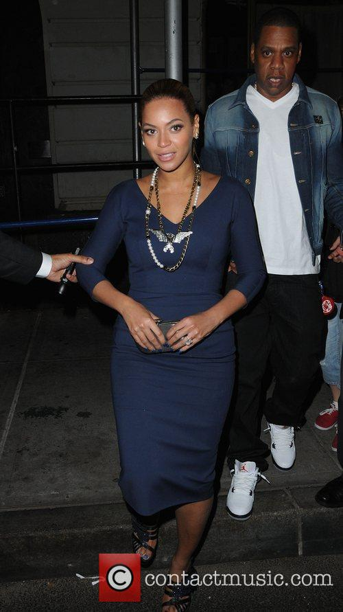 Beyonce Knowles and Jay Z 2