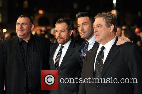 Graham King, Bryan Cranston, Ben Affleck, John Goodman and Odeon Leicester Square 3